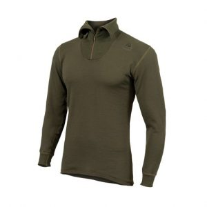 Aclima_hotwool_unisex_polo_od_oliven