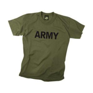t-shirt ARMY o.d.