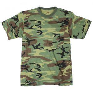 t-shirt woodland