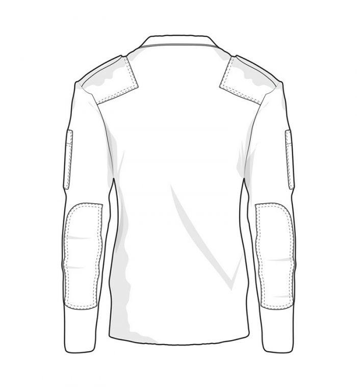 militær striktrøje commando trøje