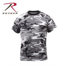 t-shirt camouflage city