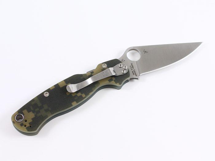 spyderco para military 2 foldekniv