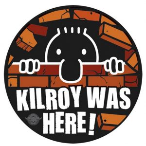 kilroy was here parch
