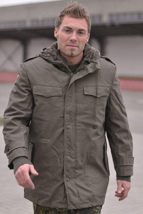 militær parka coat