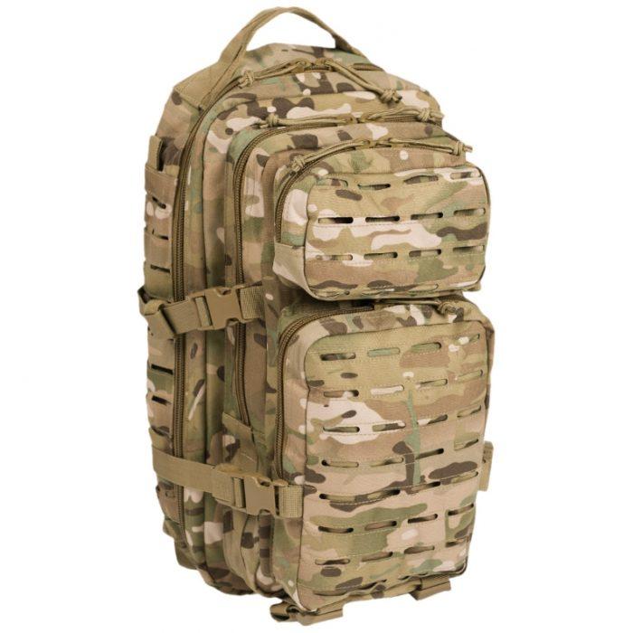 multicam mts rygsæk 25 liter med molle assault pack