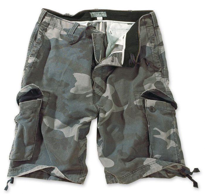 militær shorts camouflage