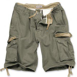 militær shorts slidt look