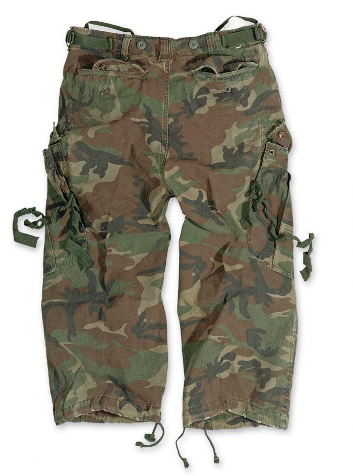army shorts Vintage militær busker
