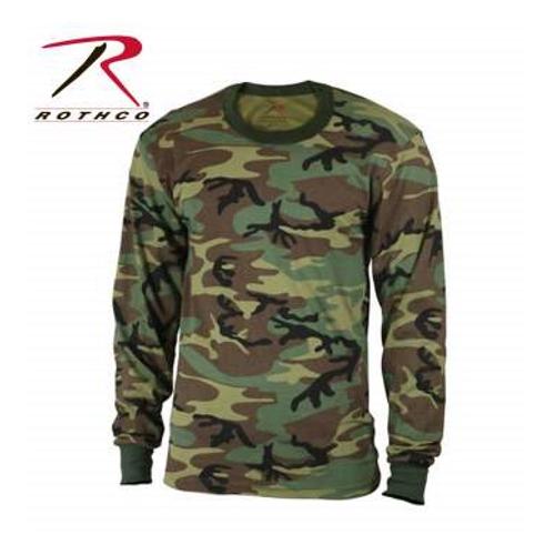 camouflage t-shirt til børn