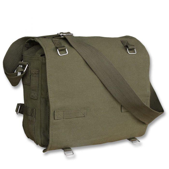 army skuldertaske grøn
