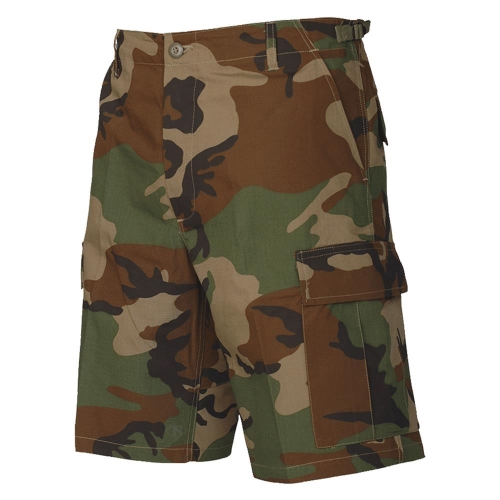 militær shorts camouflage amerikansk