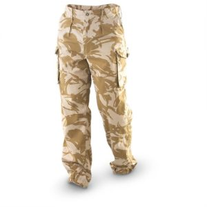 army bukser engelsk