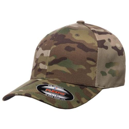kasket multicam camouflage flex fit