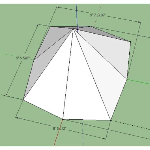 pyramide telt cimarron tipi