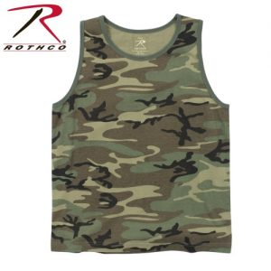 camouflage strop t-shirt