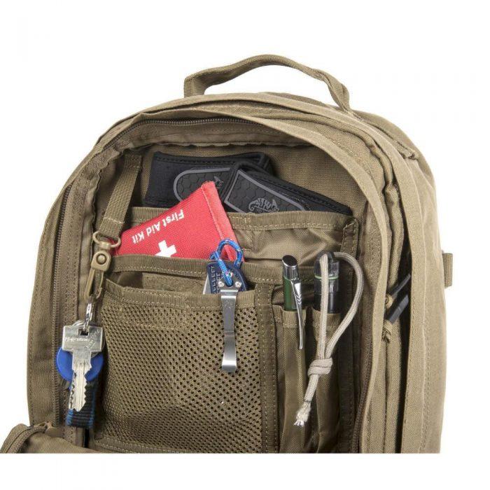 rygsæk 20 liter med mange lommer