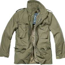 army jakke m-65 i grøn