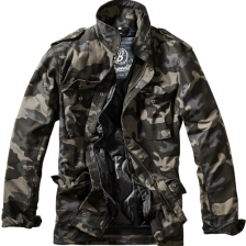 army jakke M-65 field jakke sort camo