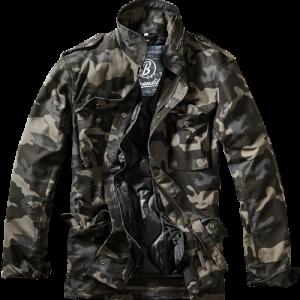 army jakke M-65 field jakke sort camo