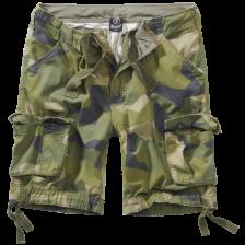 camouflage shorts i stone wash svensk camouflage