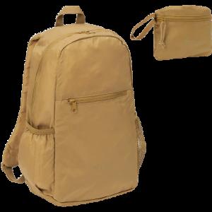 smart rygsæk der kan pakkes ind i sig selv
