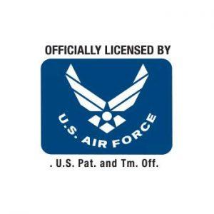 original us air foece kasket med print