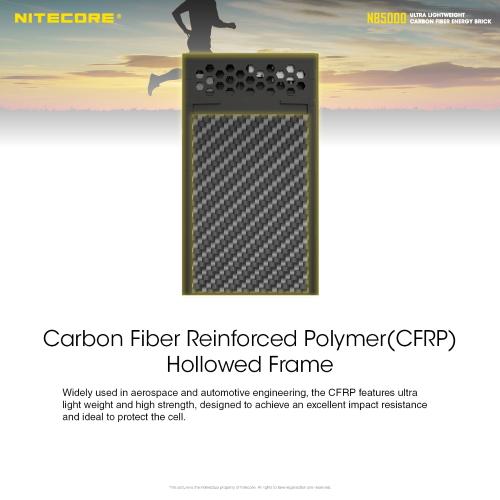 Nitecore nb5000 powerbank oplader