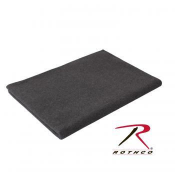 Uld tæppe – grå Kraftig kvalitet, 70% virgin uld, 30% syntetisk.