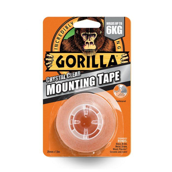 Gorilla mounting tape transperant
