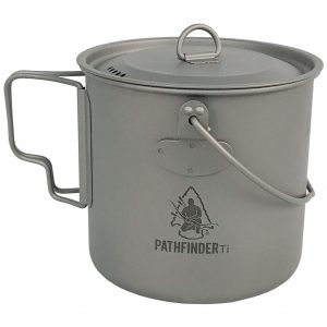 pathfinder titanium bush pot 1100 ml