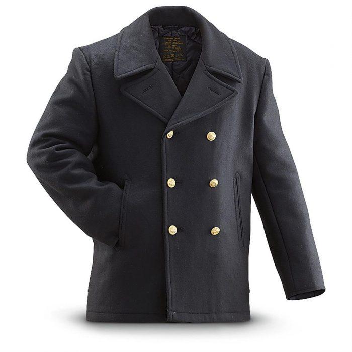 sømand jakke pea-coat