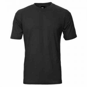 t-shirt sort bomuld