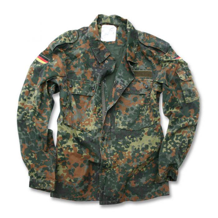 militær jakke camouflage tysk