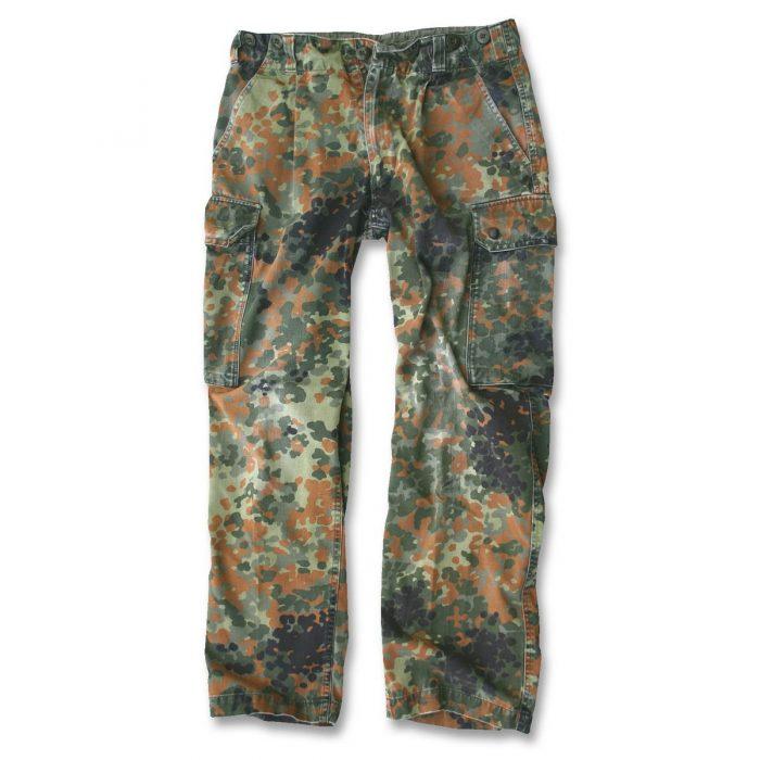 militær bukser camouflage brugt