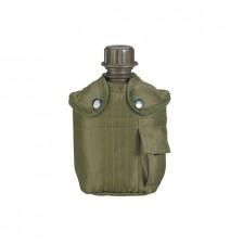 feltflaske med taske