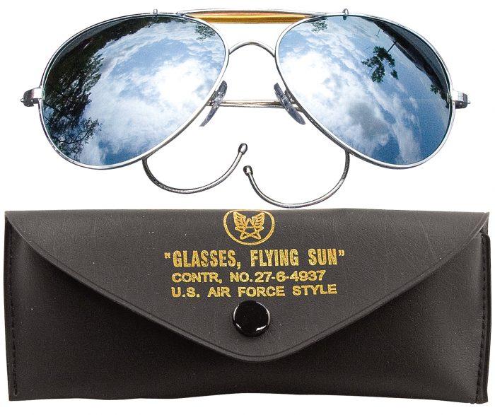 spejl glas pilot solbrille