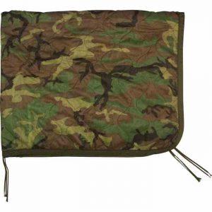 poncho liner camouflage tæppe