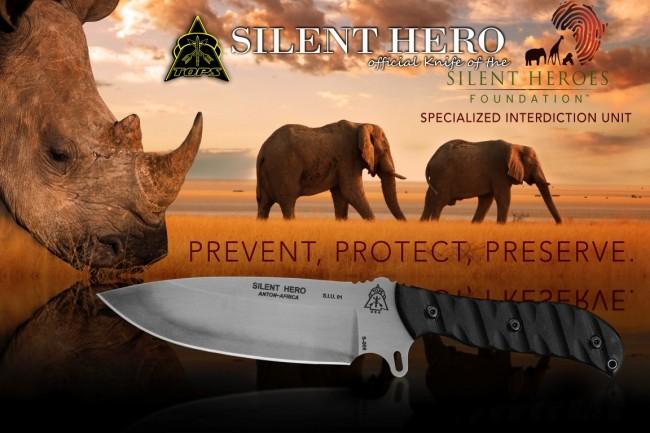 tops kniv silent hero poster