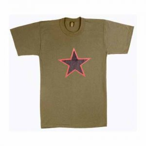 t-shirt Red star